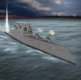 Rolls-Royce to Provide Turbine Generator Equipment, Support for Navy Zumwalt-Class Destroyers - top government contractors - best government contracting event