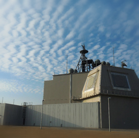 Lockheed Configures Solid State Radar With Aegis Ashore Missile Defense System - top government contractors - best government contracting event