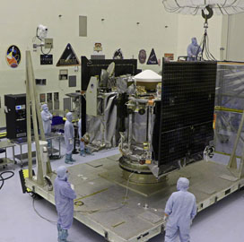 Lockheed Transports Asteroid Sampling Spacecraft to NASA for Launch Preparations - top government contractors - best government contracting event