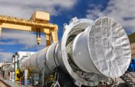 Orbital ATK Installs 2nd Qualification Motor for NASA SLS Booster Test