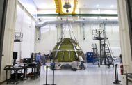 NASA, Lockheed Engineers Test Orion EM-1 Spacecraft Pressure Vessel