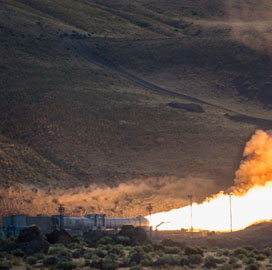 Orbital ATK-Built SLS Booster System Passes Final Qualification Ground Test - top government contractors - best government contracting event