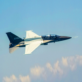 Lockheed Test Pilot Mark Ward Reaches 100 Flight Hours Aboard T-50A - top government contractors - best government contracting event