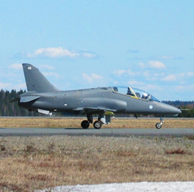 Patria Taps Esterline to Update Cockpit Avionics Platform on Finland Air Force's Hawk Aircraft - top government contractors - best government contracting event
