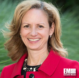 """AWS""""™ Jennifer Chronis: Commercial Cloud Works to Offer Security, Scalability to DoD - top government contractors - best government contracting event"""