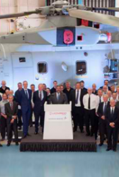 Lockheed Delivers 30th Merlin Mk2 Helicopter to UK Military - top government contractors - best government contracting event