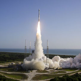 ULA Launches NRO's National Defense Payload Aboard Atlas V Rocket - top government contractors - best government contracting event