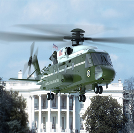 Col. Eric Ropella: Navy plans to buy 17 presidential helicopters under new proposal - top government contractors - best government contracting event