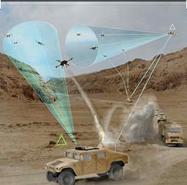 DARPA Picks 3 Industry Teams to Develop Counter-Small UAS Approaches - top government contractors - best government contracting event