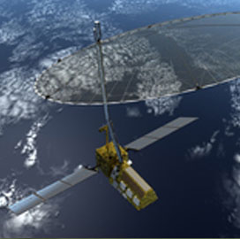 Northrop Subsidiary Reviews Design of Radar Antenna Reflector for US-India Imaging Satellite - top government contractors - best government contracting event