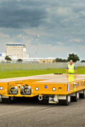 NASA Adopts Specialized Transporters to Move Space Launch System Test Articles - top government contractors - best government contracting event