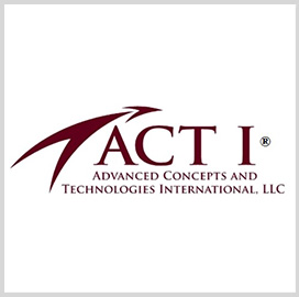 ACT I Secures F-35 Program Office Logistics Support Subcontract; Michael Niggel Comments - top government contractors - best government contracting event