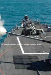 Navy Exercises $50M BAE Contract Option for Destroyer Ship Gun Updates - top government contractors - best government contracting event