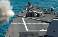Navy Exercises $50M BAE Contract Option for Destroyer Ship Gun Updates