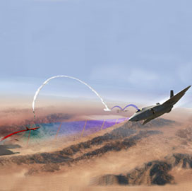 Navy, Marine Corps Demo Lockheed's F-35, Aegis Weapon System in Live Missile Fire Test - top government contractors - best government contracting event