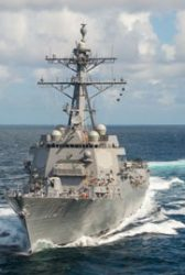 Navy, Huntington Ingalls Finish Sea Trials of 'Finn' Guided Missile Destroyer - top government contractors - best government contracting event