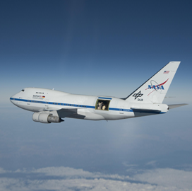 NASA Picks Industry-Academia Investigator Team to Build Spectrometer for SOFIA Flying Observatory - top government contractors - best government contracting event