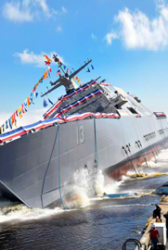 Lockheed Martin-Led Team Unveils 13th LCS USS Wichita - top government contractors - best government contracting event