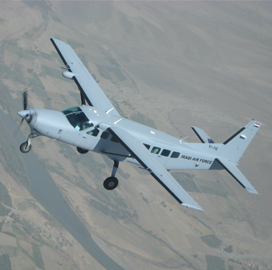 Textron Subsidiary to Extend Afghan C-208B Caravan Aircraft Support - top government contractors - best government contracting event