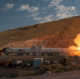 NASA Performs Qualification Tests on SLS Rocket, Orion Spacecraft With Industry Team - top government contractors - best government contracting event