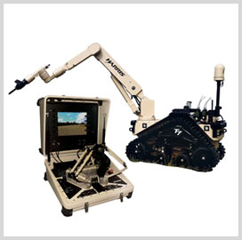 Harris Launches EOD Robot at AUSA Convention - top government contractors - best government contracting event