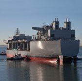 Navy, General Dynamics Launch Hershel 'Woody' Williams ESB Ship - top government contractors - best government contracting event