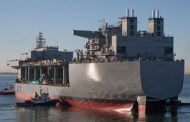 Navy, General Dynamics Launch Hershel 'Woody' Williams ESB Ship