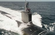 Huntington Ingalls Tests Navy's Washington Submarine at Sea
