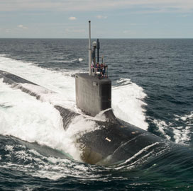 HII, General Dynamics to Hold Christening of Navy's Future USS Vermont, Delaware Submarines - top government contractors - best government contracting event