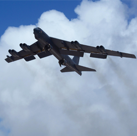 Maj. Jacob Davis: Air Force Eyes RFP for B-52H Bomber Engine Replacement Program in FY 2019 - top government contractors - best government contracting event