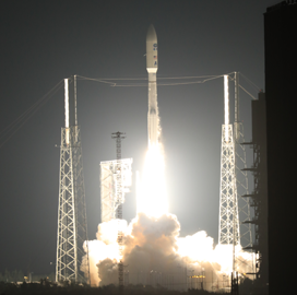 NOAA, NASA Launch Lockheed-built GOES-R Weather Satellite - top government contractors - best government contracting event