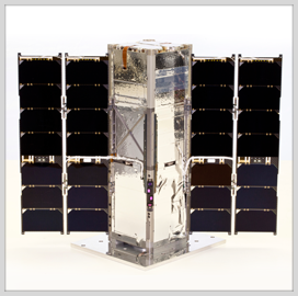Johns Hopkins APL's CubeSat for Earth Radiation Imbalance Study Launches Aboard Atlas V Rocket - top government contractors - best government contracting event