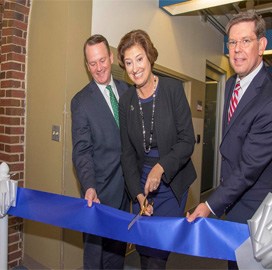 Mitre, Worcester Polytechnic Institute Open Joint In-Campus Collaboration Space; Alex Wyglinski Comments - top government contractors - best government contracting event