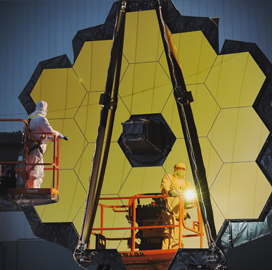 NASA Puts Webb Telescope's Primary Mirror Through 1st 'Center of Curvature' Test - top government contractors - best government contracting event