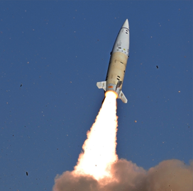 Lockheed Conducts 2nd Flight Test of Updated Tactical Missile System For Army - top government contractors - best government contracting event