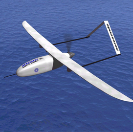Textron to Equip Small Aerosonde UAS With Overwatch Imaging's Precision Survey Sensor - top government contractors - best government contracting event
