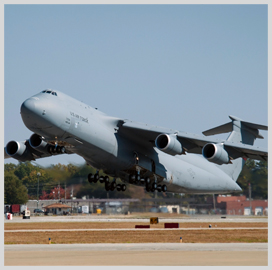 Lockheed Delivers C-5M Super Galaxy Airlifter to USAF - top government contractors - best government contracting event