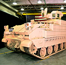 BAE Unveils First Armored Multi-Purpose Vehicle Prototype for Army - top government contractors - best government contracting event