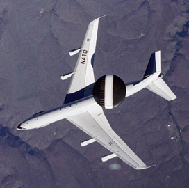 Boeing Performs Radar Upgrade on Saudi Arabia's AWACS Aircraft - top government contractors - best government contracting event