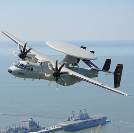 Rockwell Collins Gets Navy E-2D Training System Support Contract Modification - top government contractors - best government contracting event