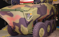 Marine Corps Receives 1st BAE-Built Amphibious Combat Vehicle Prototype