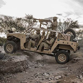 Polaris Industries to Deliver 78 DAGOR Combat Vehicles to Canada; John Olson Comments - top government contractors - best government contracting event
