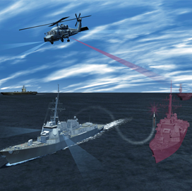 Navy, Lockheed Complete Helicopter-Based Electronic Warfare Pod Preliminary Design Review - top government contractors - best government contracting event