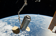 Northrop's Cygnus Raises Space Station's Orbit Through Reboost Test