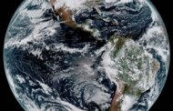 Harris-Built GOES-16 Satellite Camera Captures Image of Earth's Full Western Hemisphere