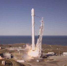 First Iridium 'NEXT' Satellite Batch Deployed to Space After SpaceX Falcon 9 Launch - top government contractors - best government contracting event