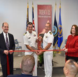 Lockheed, Navy Open Renovated Cape Canaveral Facilityto Support Fleet Ballistic Missile Program - top government contractors - best government contracting event