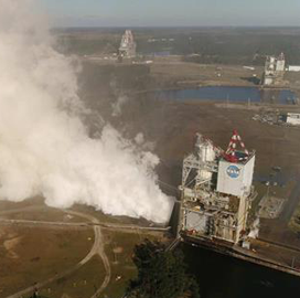 Aerojet Rocketdyne Tests AR1, RS-25 Engines at NASA Stennis Space Center - top government contractors - best government contracting event