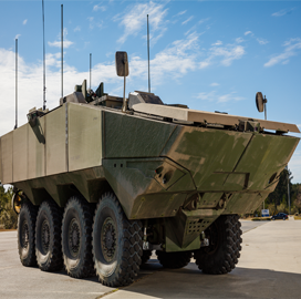 SAIC Inaugurates 1st Amphibious Combat Vehicle Prototype for Marine Corps - top government contractors - best government contracting event