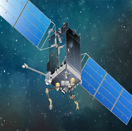 DARPA, Space Systems Loral Reach Draft Partnership Agreement on On-Orbit Robotic Servicer R&D - top government contractors - best government contracting event